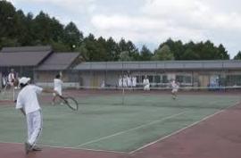 霊仙寺湖テニスコート